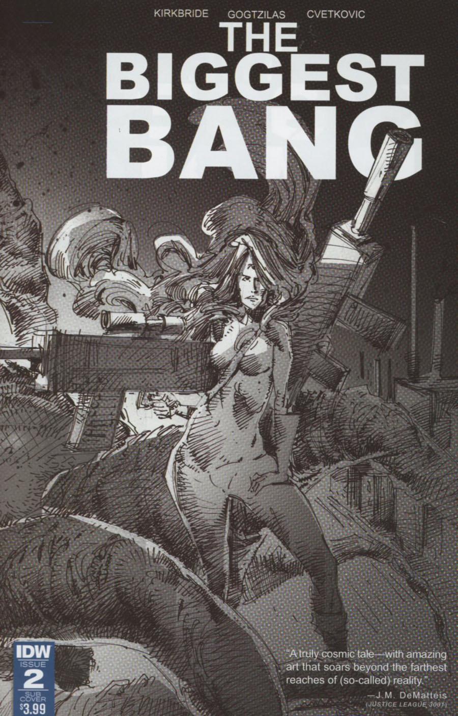 Biggest Bang #2 Cover B Variant Vassilis Gogtzilas Subscription Cover