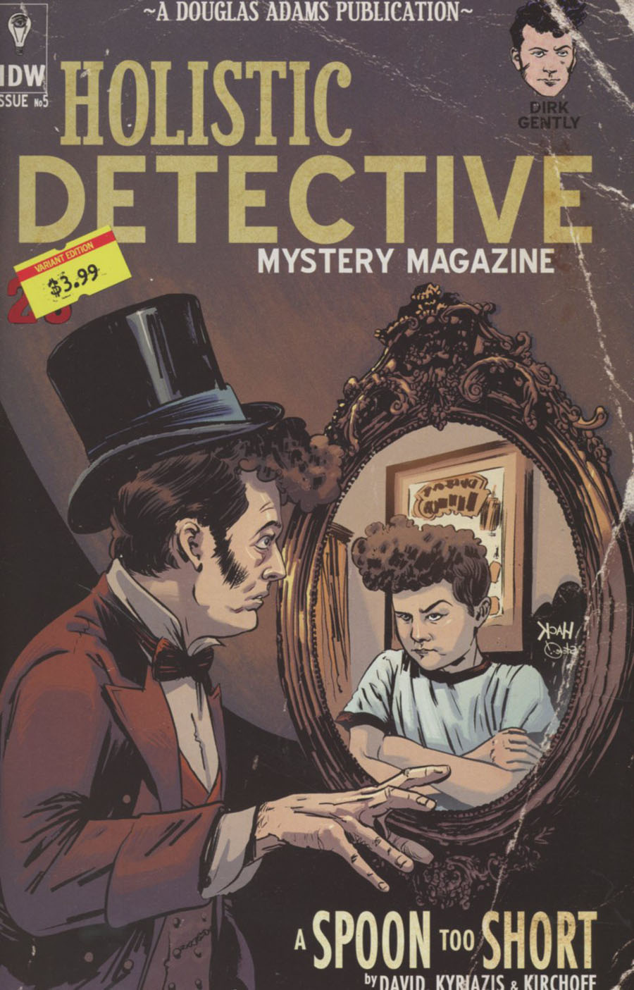 Dirk Gentlys Holistic Detective Agency A Spoon Too Short #5 Cover B Variant Robert Hack Subscription Cover