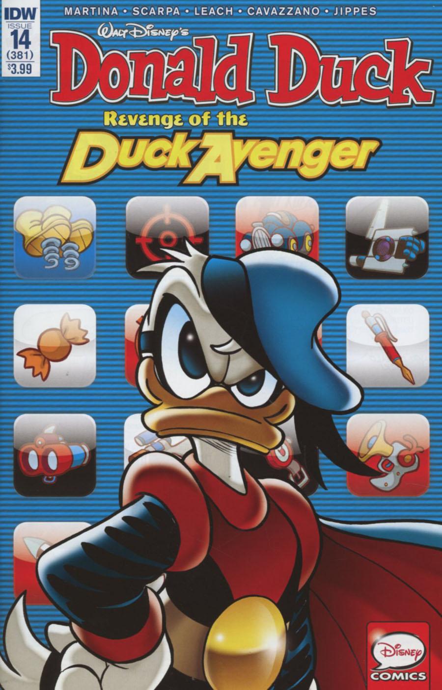 Donald Duck Vol 2 #14 Cover A Regular Andrea Freccero Cover