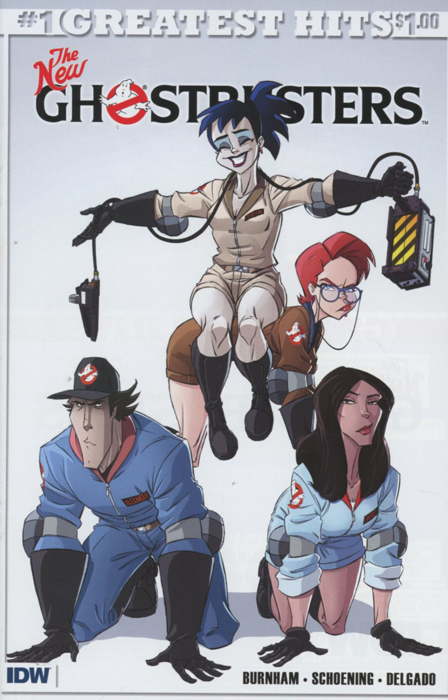 New Ghostbusters #1 Cover H IDWs Greatest Hits
