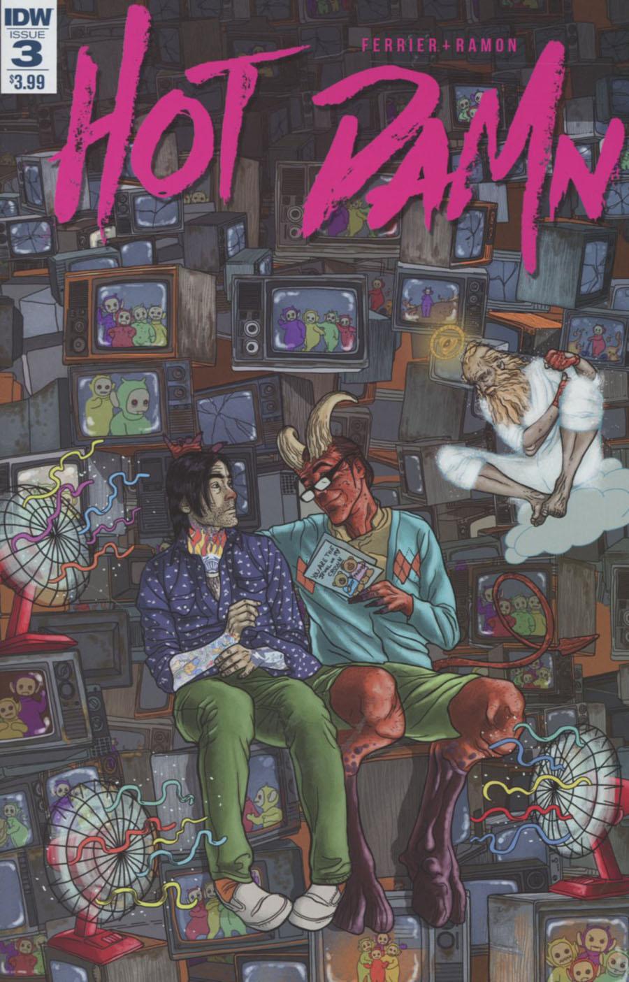 Hot Damn #3 Cover A Regular Valentin Ramon Cover