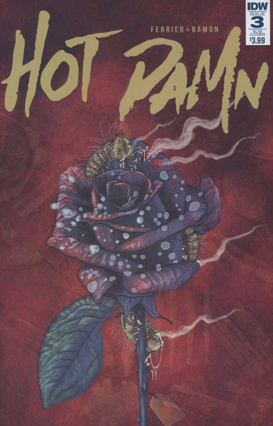 Hot Damn #3 Cover B Variant Valentin Ramon Subscription Cover