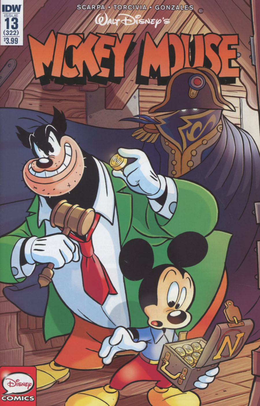 Mickey Mouse Vol 2 #13 Cover A Regular Andrea Freccero Cover