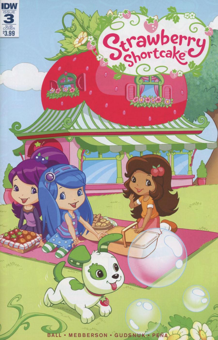 Strawberry Shortcake Vol 3 #3 Cover B Variant Tina Francisco Subscription Cover