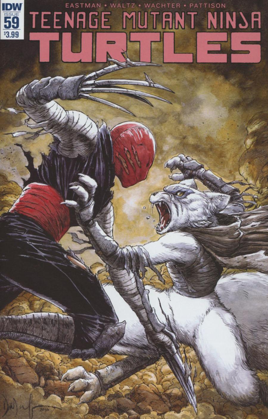 Teenage Mutant Ninja Turtles Vol 5 #59 Cover A 1st Ptg Regular Dave Wachter Cover