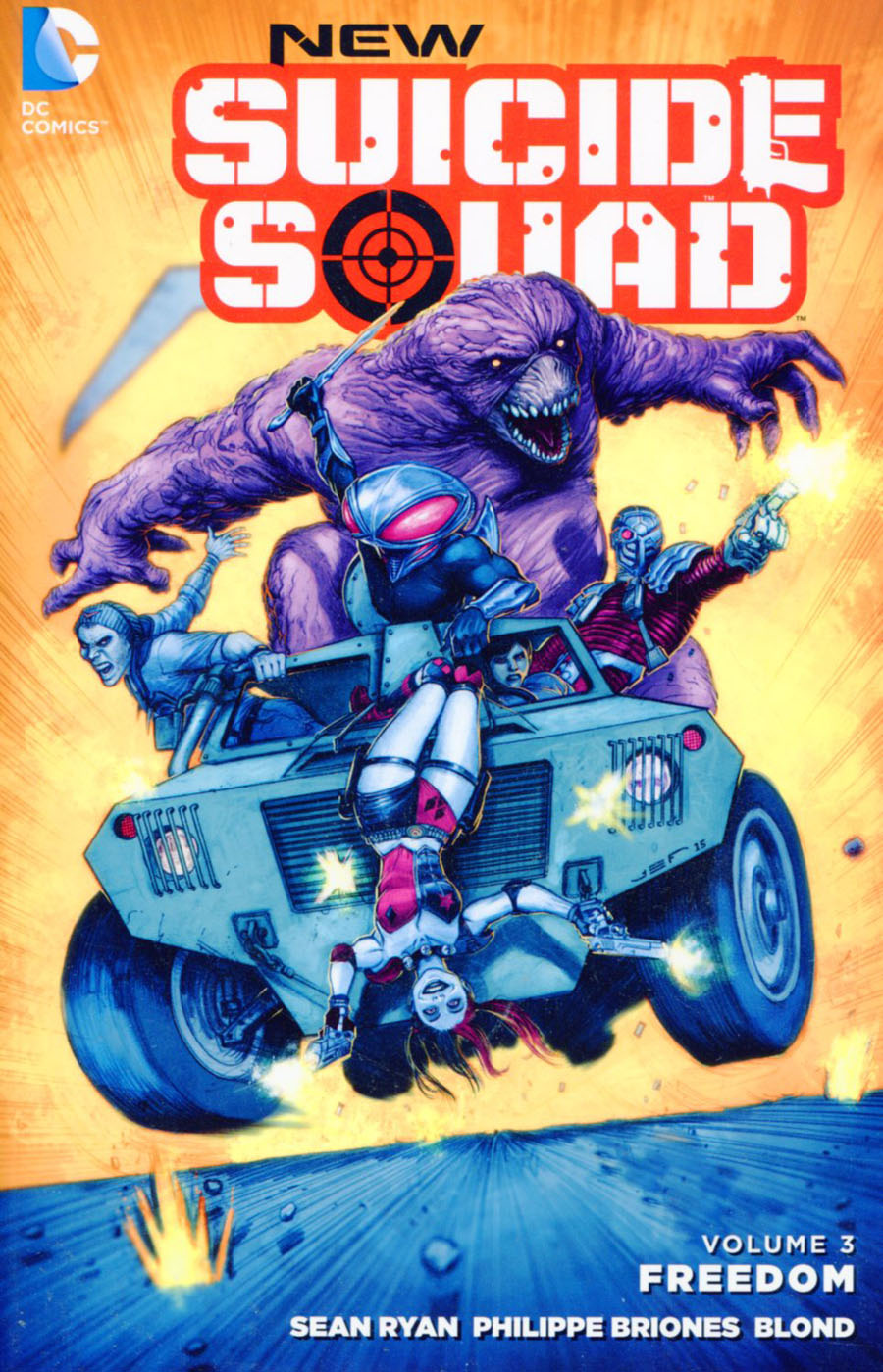 New Suicide Squad (New 52) Vol 3 Freedom TP