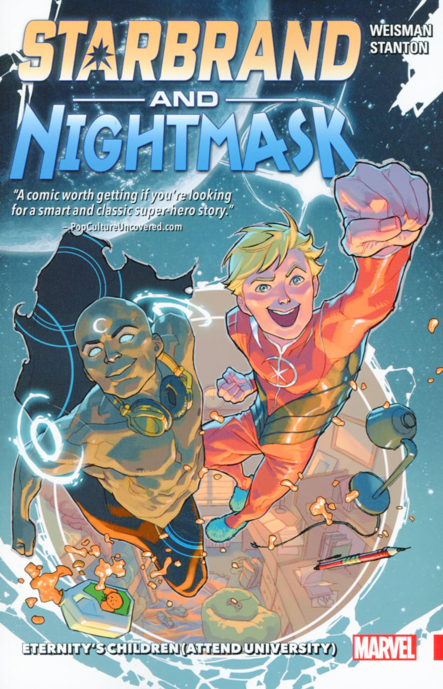 Starbrand And Nightmask Eternitys Children (Attend University) TP