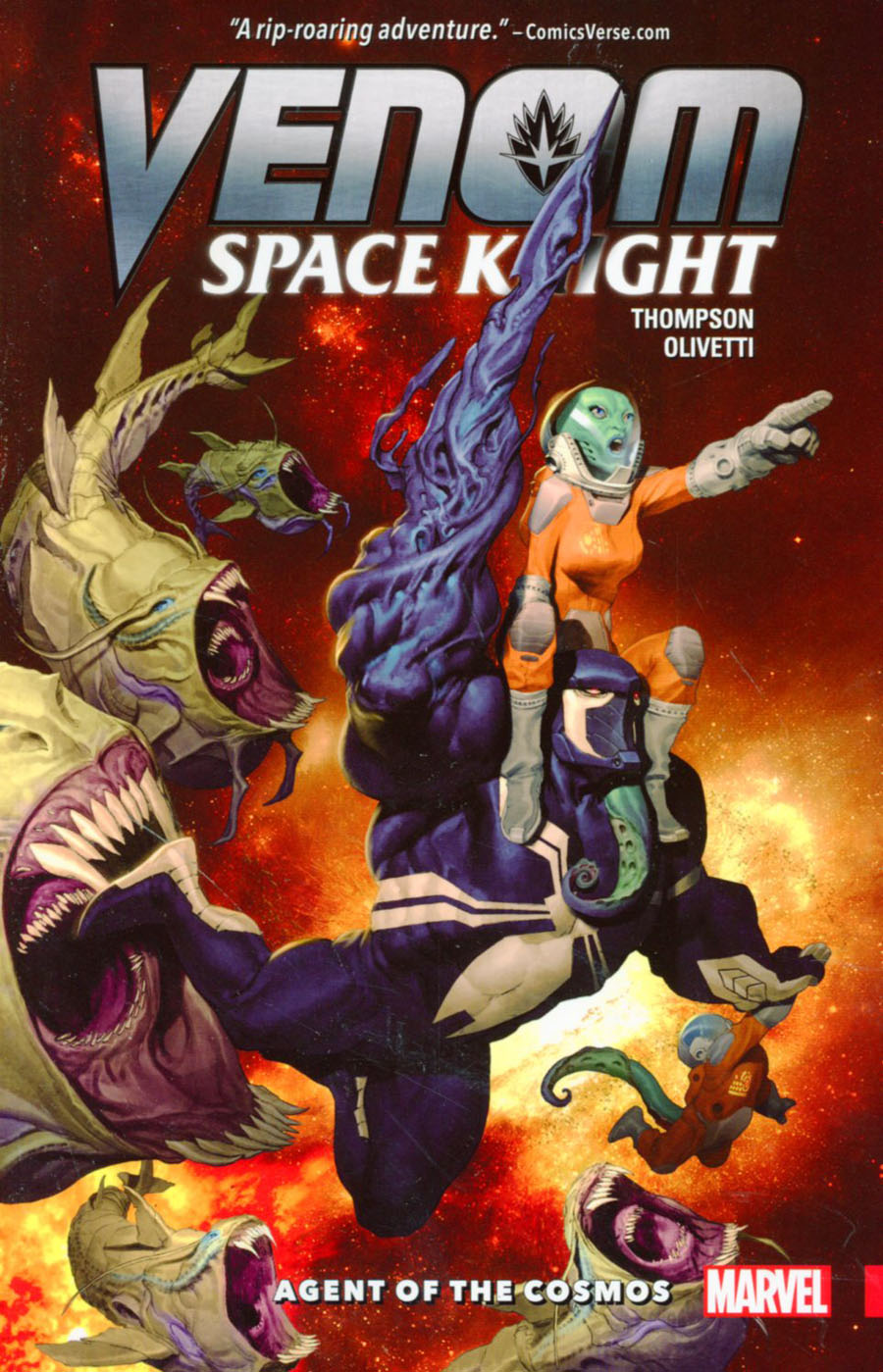 Venom Space Knight Vol 1 Agent Of The Cosmos TP