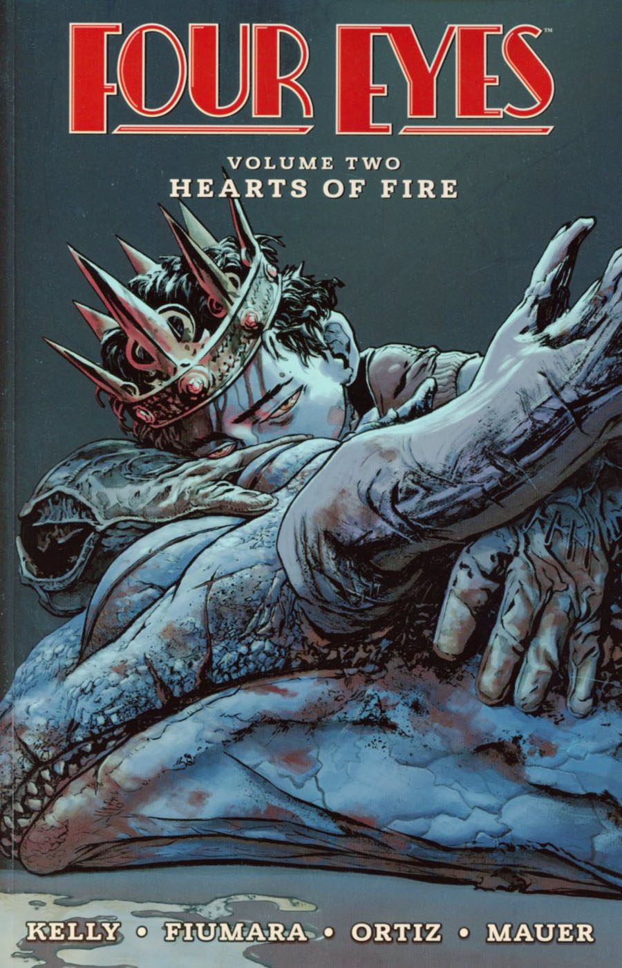 Four Eyes Vol 2 Hearts Of Fire TP