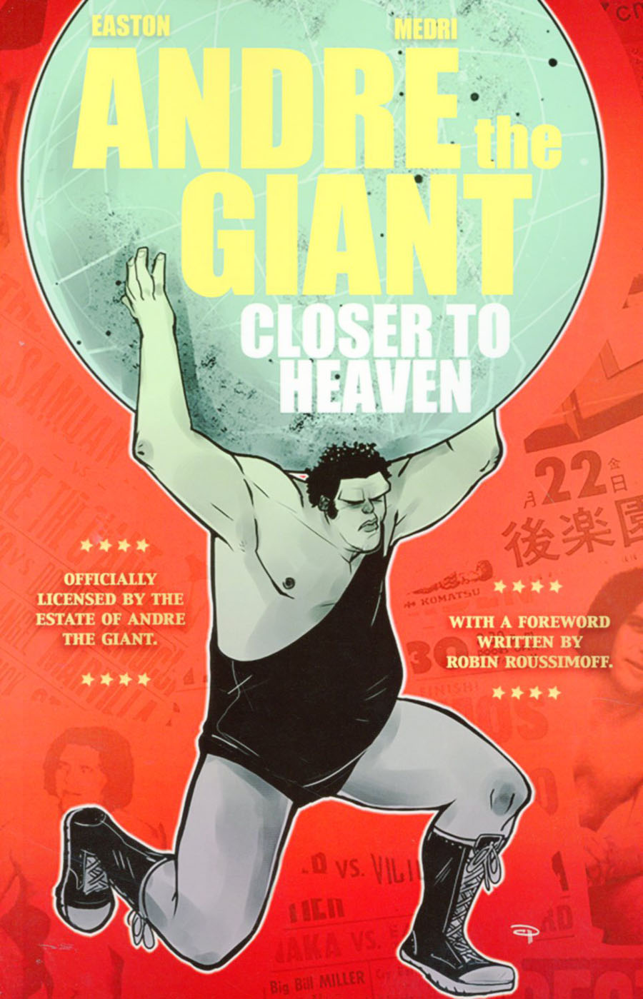 Andre The Giant Closer To Heaven GN Lion Forge Edition