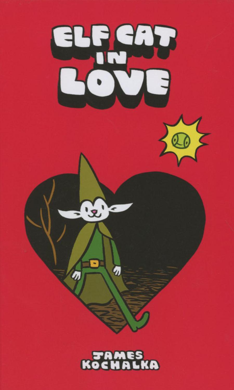 Elf Cat In Love HC