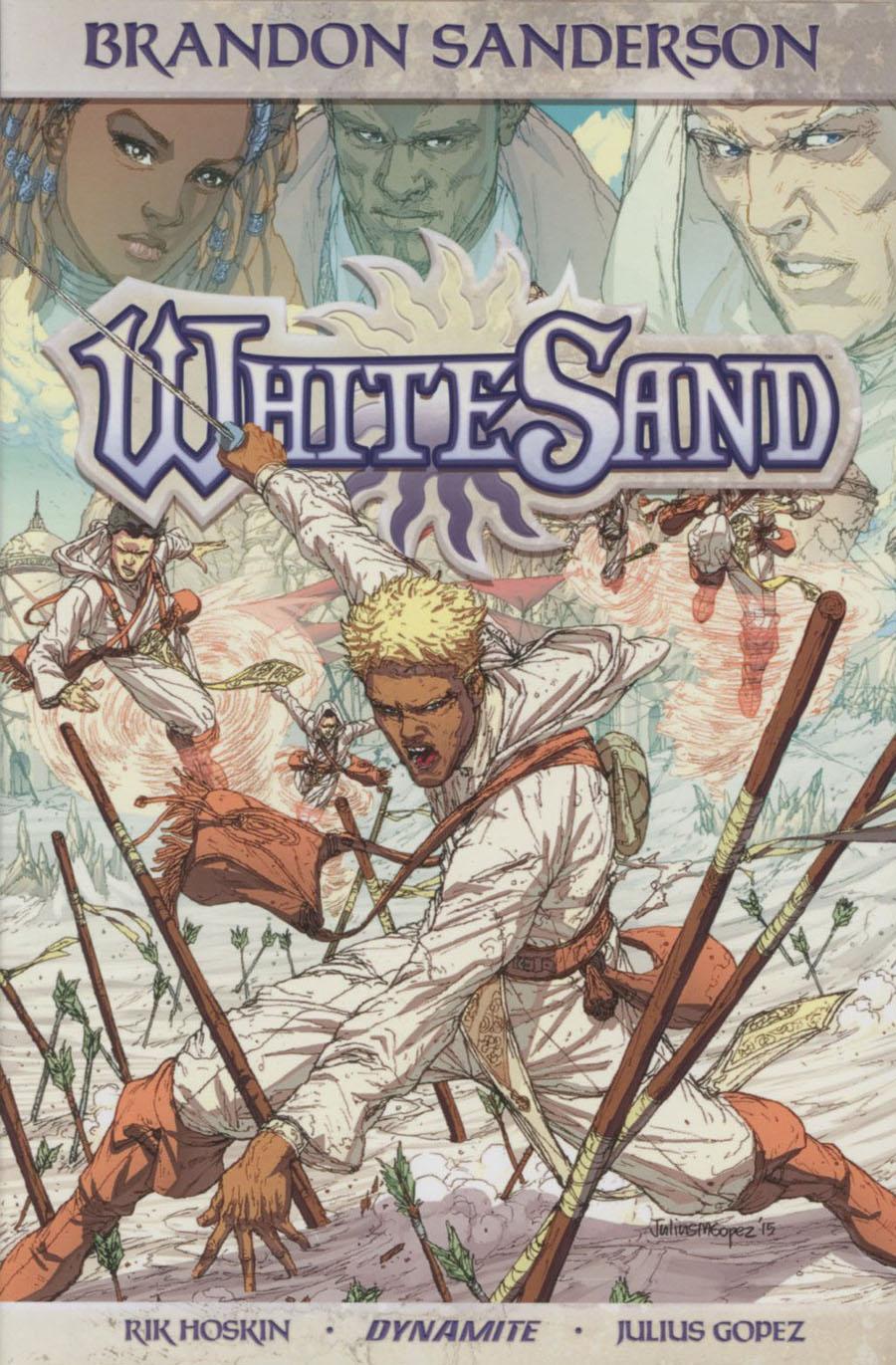 Brandon Sandersons White Sand Vol 1 HC Regular Edition