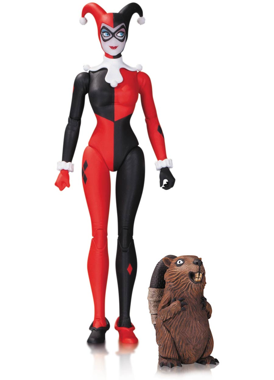 DC Comics Designer Amanda Conner Series 1 Traditional Harley Quinn Action Figure