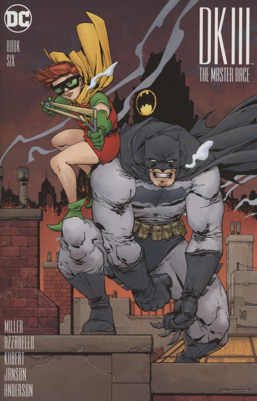 Dark Knight III The Master Race #6 Cover E Incentive Giuseppe Camuncoli Variant Cover
