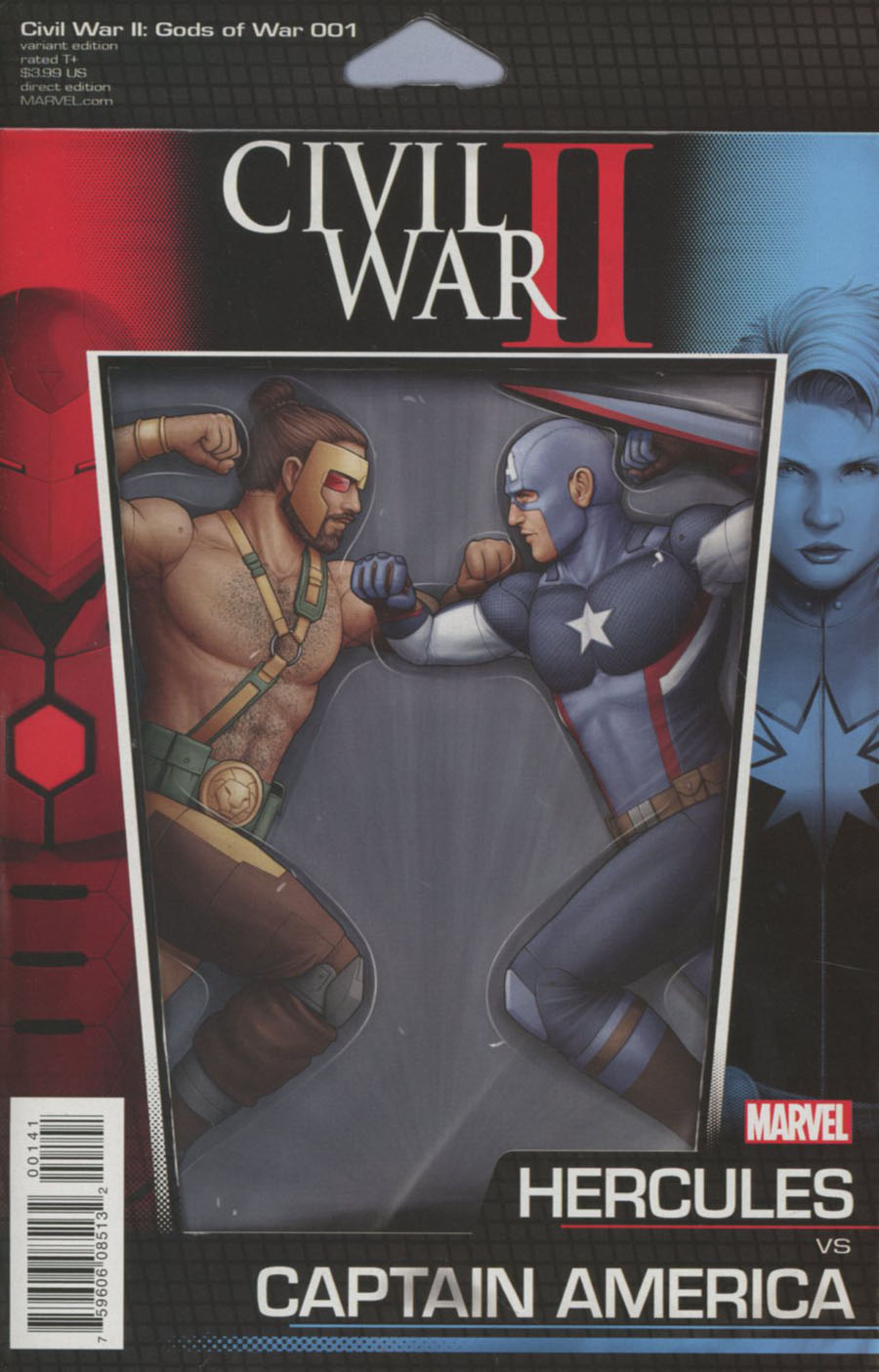 Civil War II Gods Of War #1 Cover C Variant John Tyler Christopher Action Figure Cover