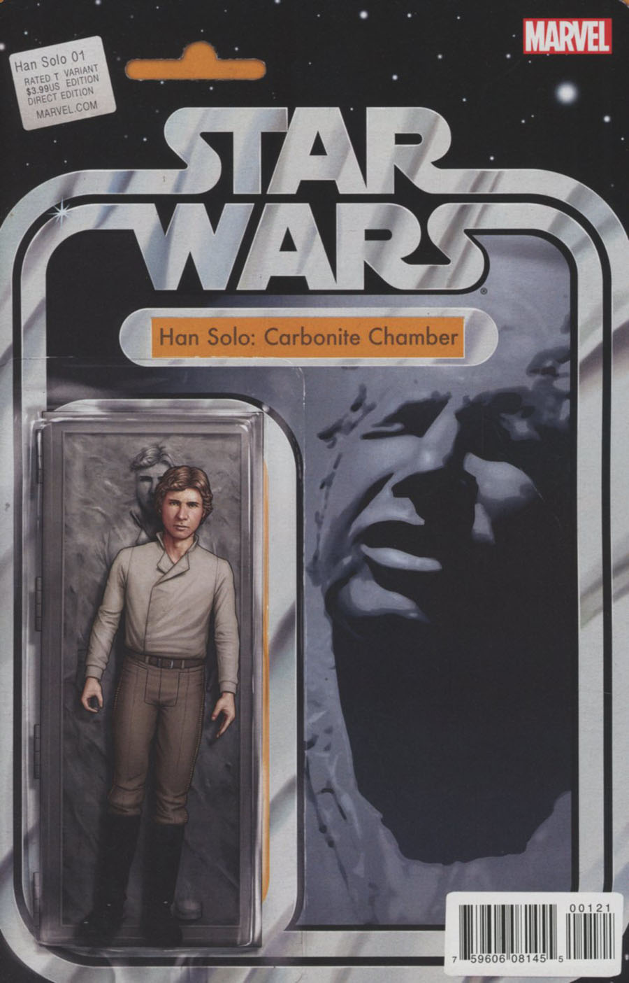 Star Wars Han Solo #1 Cover B Variant John Tyler Christopher Action Figure Cover