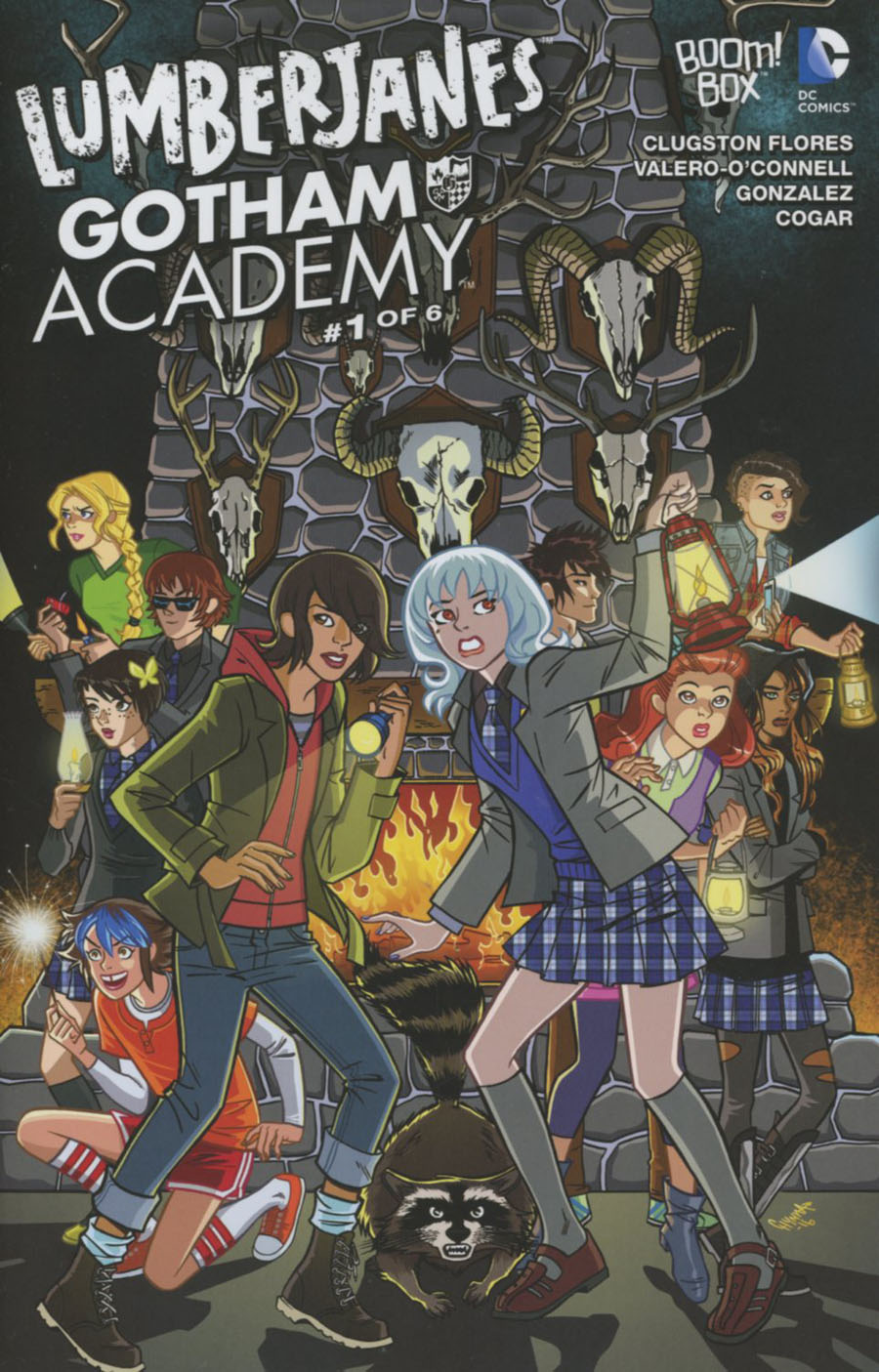 Lumberjanes Gotham Academy #1 Cover C Variant Chynna Clugston-Flores Unlockable Cover