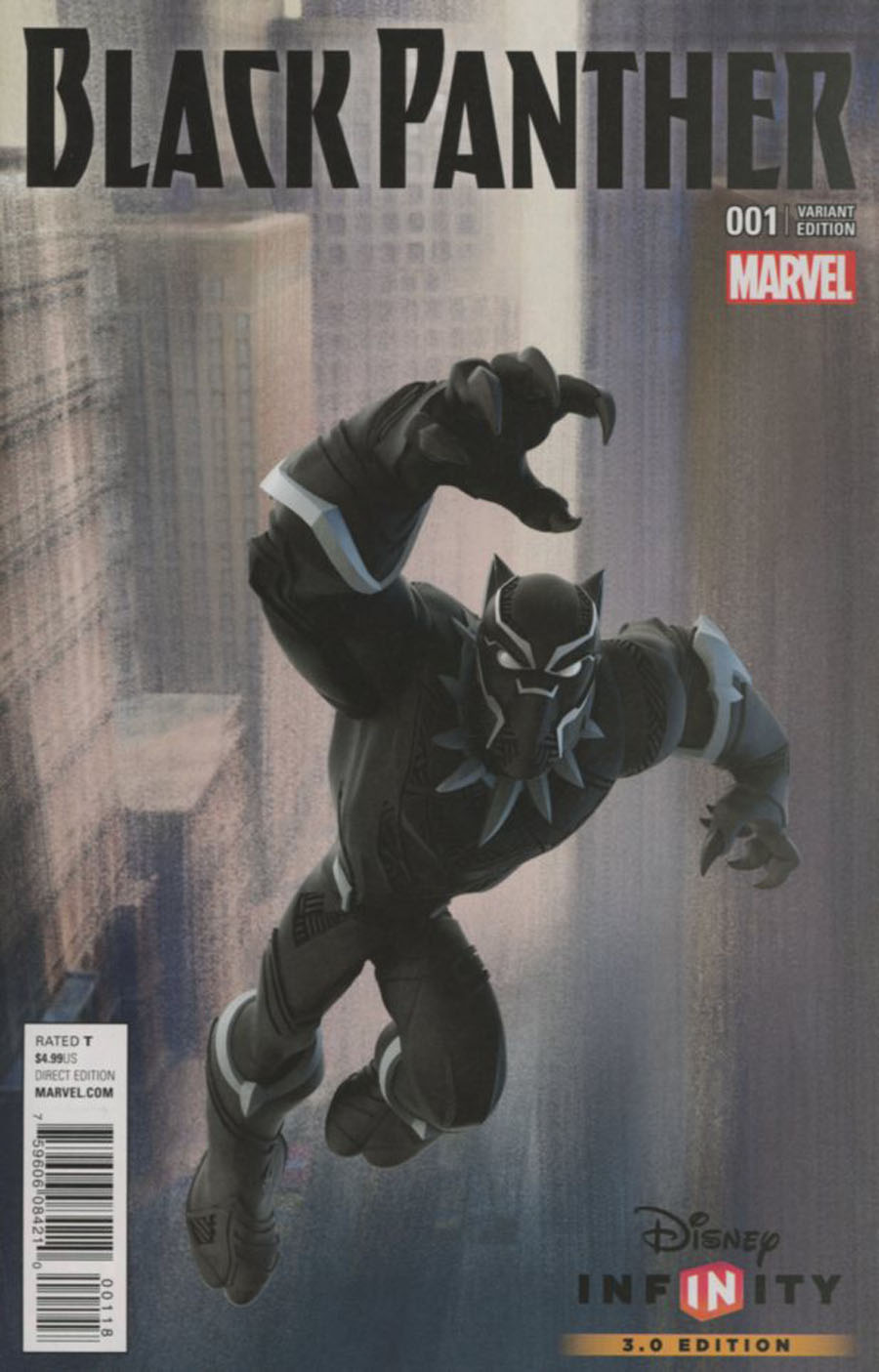 Black Panther Vol 6 #1 Cover G Incentive KABAM Game Variant Cover