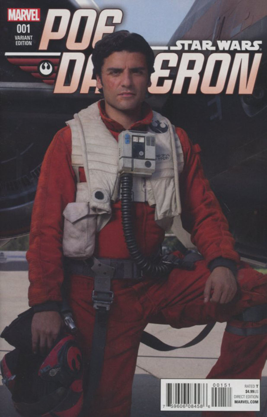 Star Wars Poe Dameron #1 Cover F Incentive Movie Variant Cover