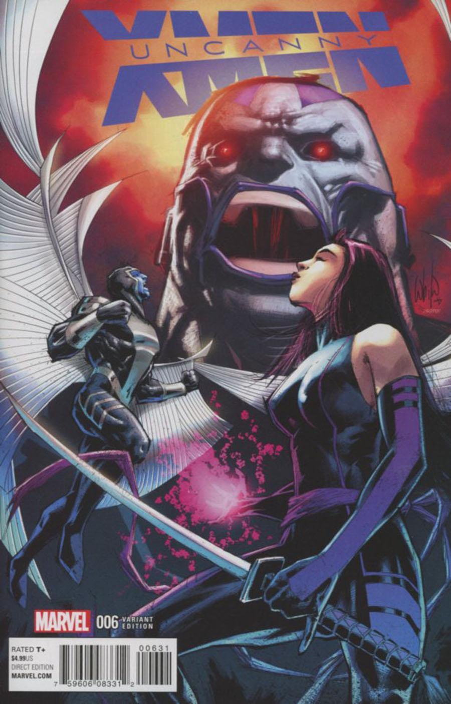 Uncanny X-Men Vol 4 #6 Cover D Incentive Classic Variant Cover (X-Men Apocalypse Wars Tie-In)