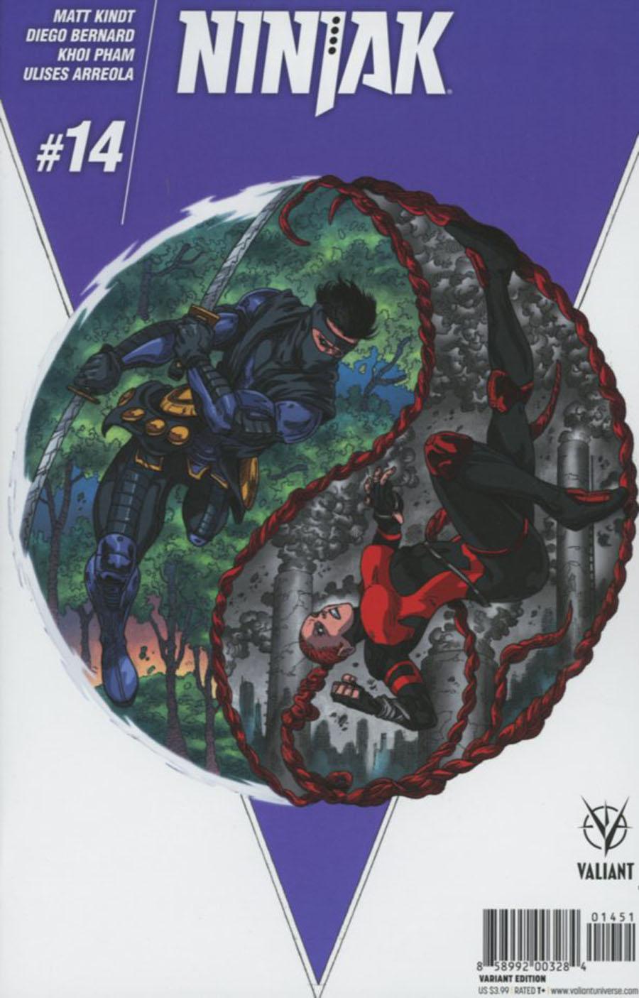 Ninjak Vol 3 #14 Cover E Incentive Andres Guinaldo Variant Cover