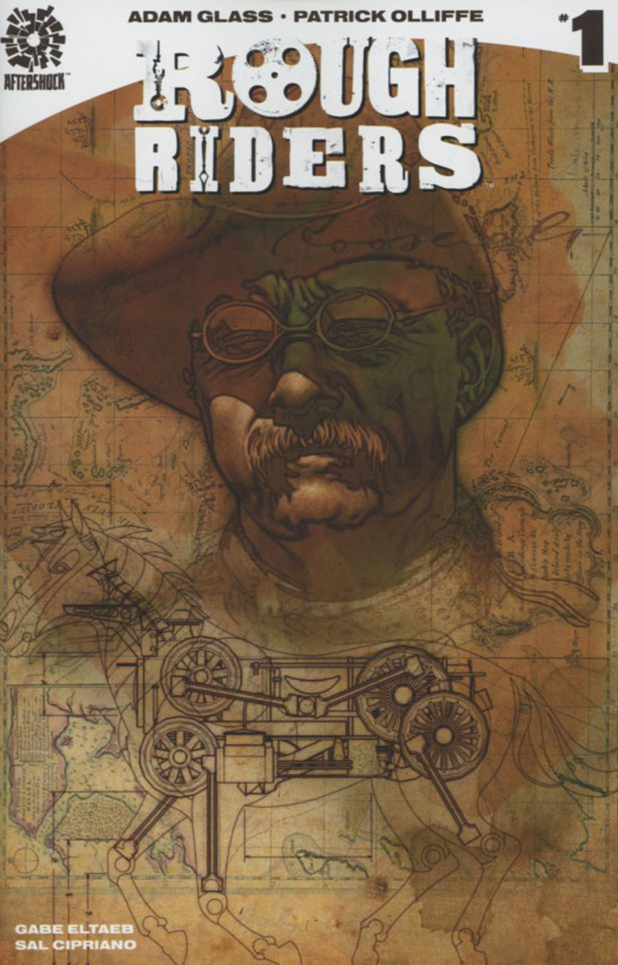 Rough Riders #1 Cover B Incentive Brian Stelfreeze Variant Cover