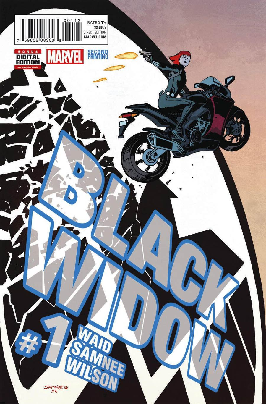 Black Widow Vol 6 #1 Cover G 2nd Ptg Chris Samnee Variant Cover