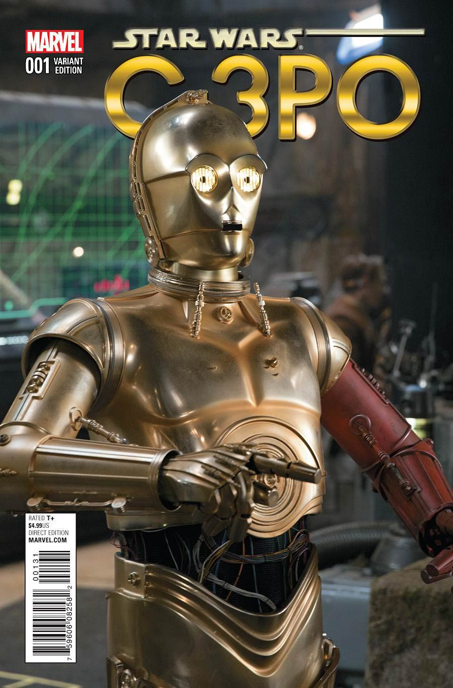 Star Wars Special C-3PO #1 Cover D Incentive Movie Photo Variant Cover