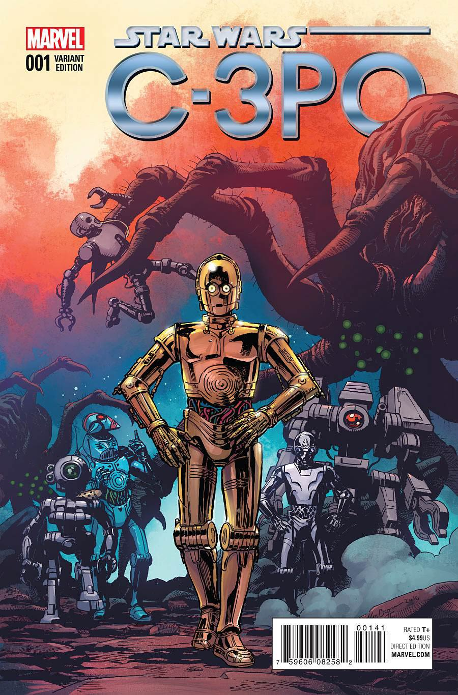 Star Wars Special C-3PO #1 Cover E Incentive Variant Cover