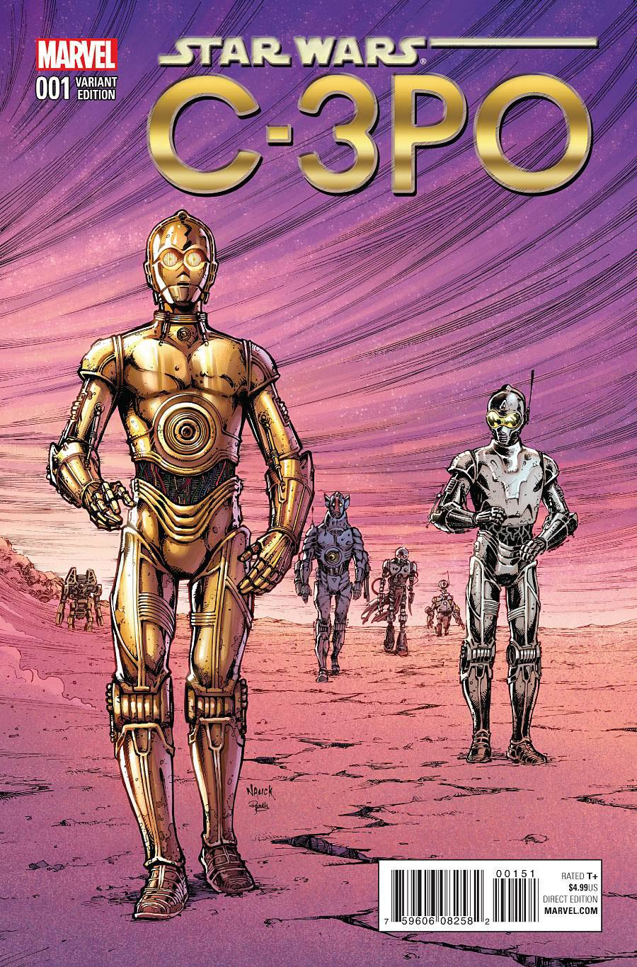 Star Wars Special C-3PO #1 Cover F Incentive Classic Variant Cover