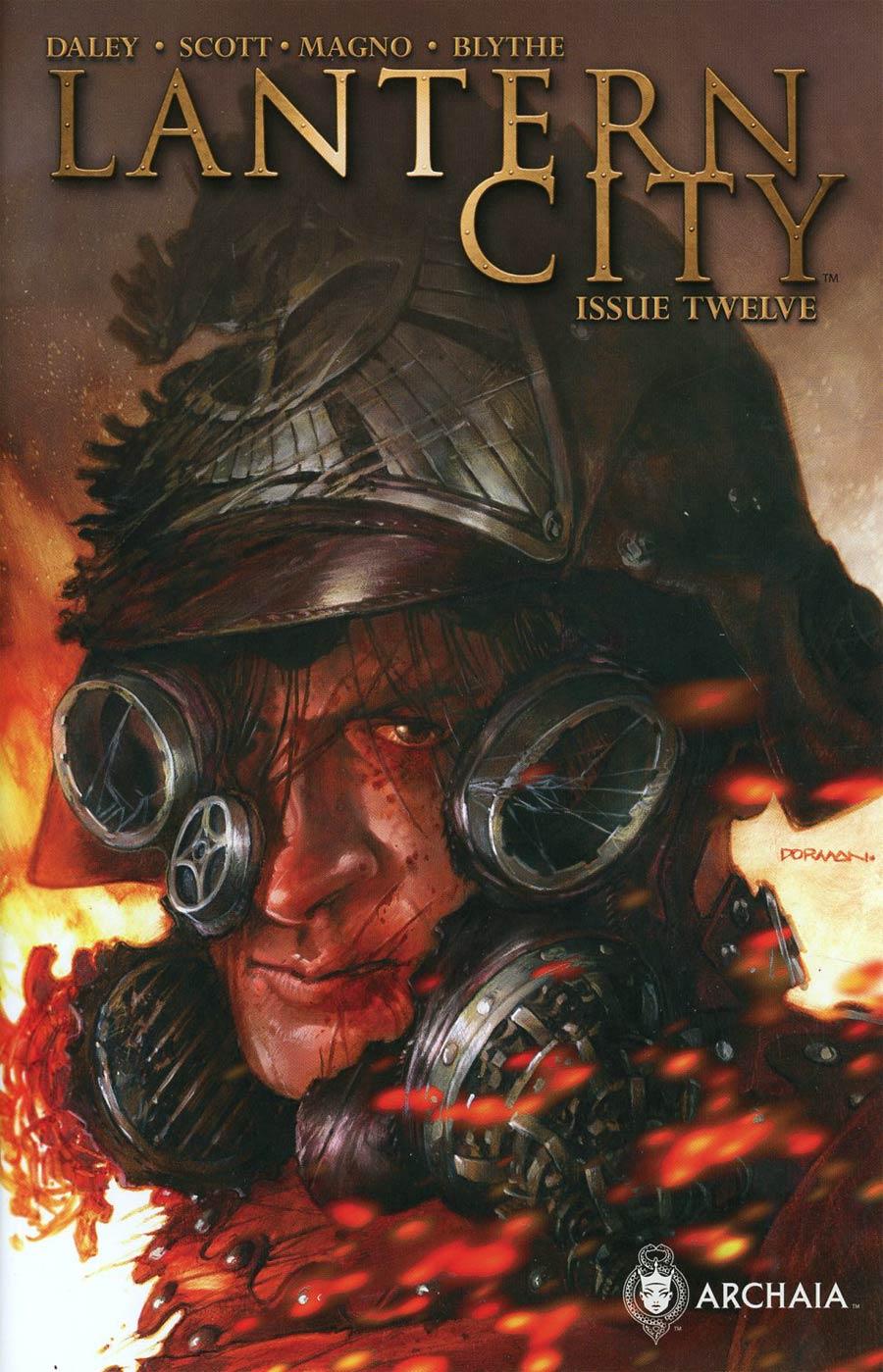 Lantern City #12 Cover B Variant Dave Dorman Cover