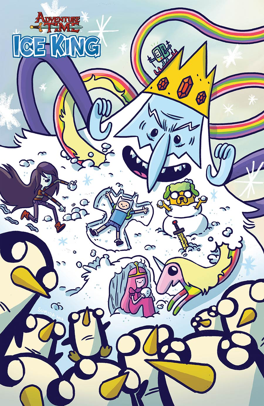 Adventure Time Ice King #4 Cover C Incentive Nick Sumida Virgin Variant Cover