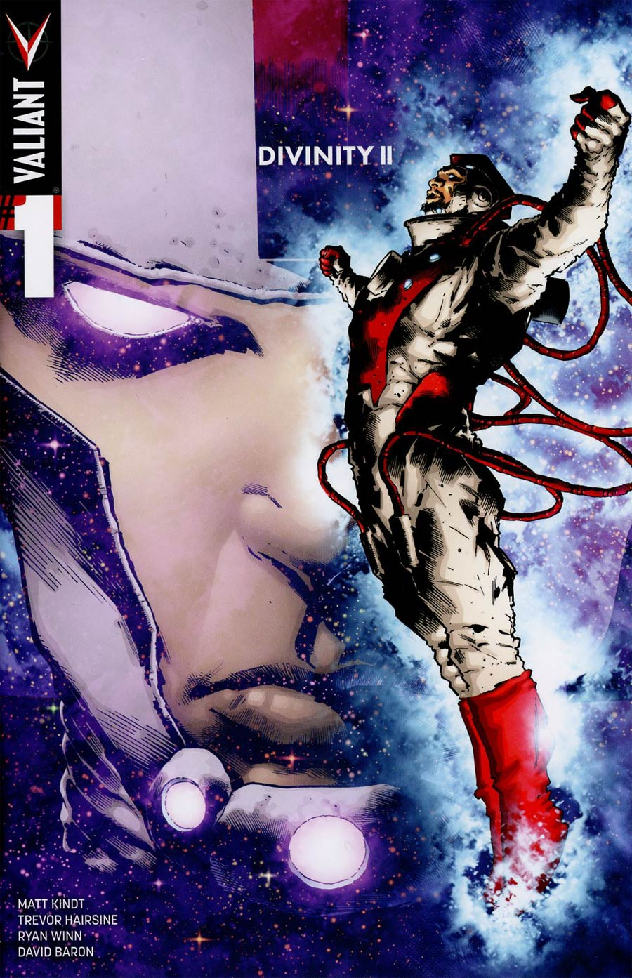 Divinity II #1 Cover D Incentive Trevor Hairsine Color Variant Cover
