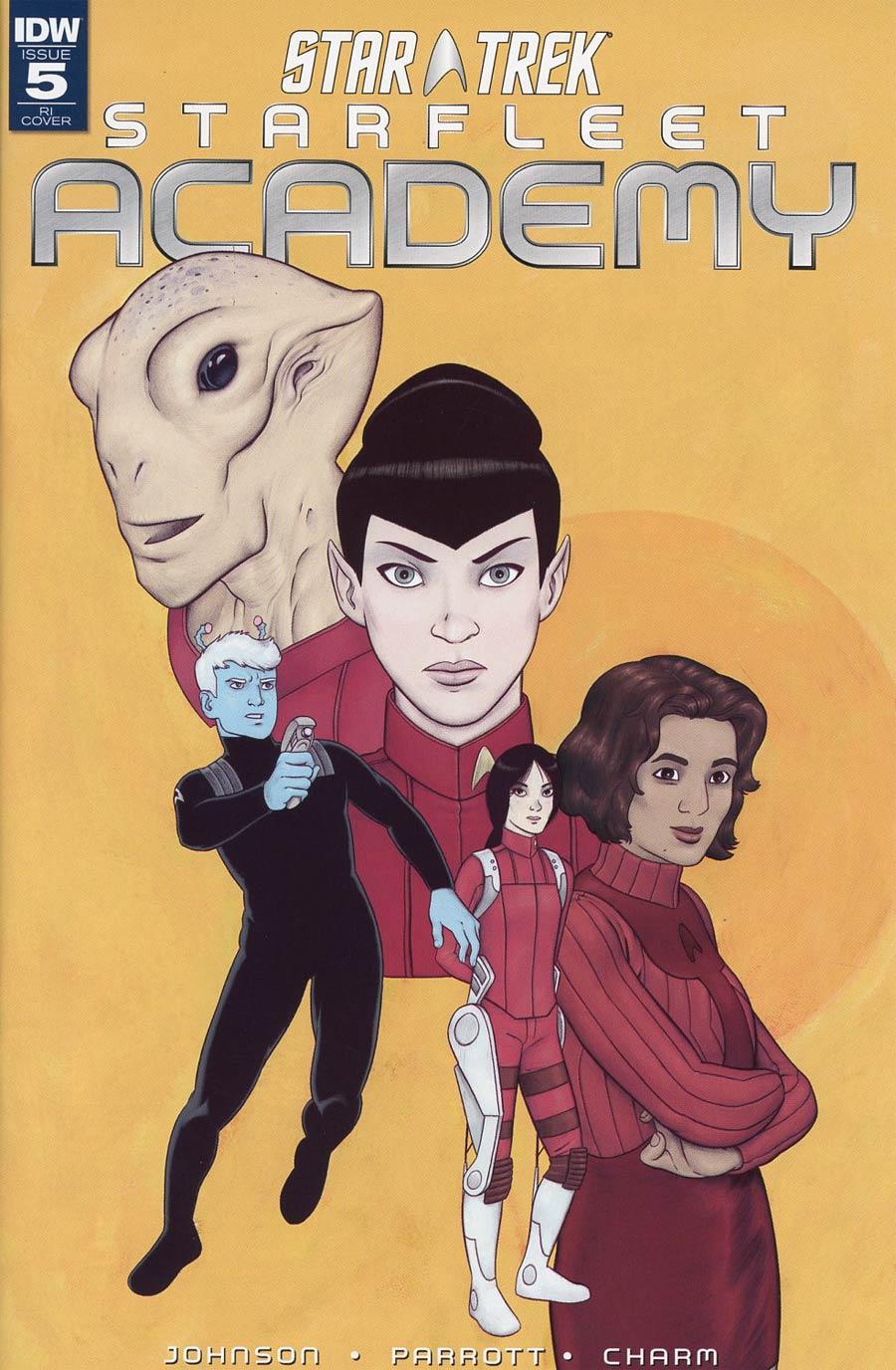 Star Trek Starfleet Academy (IDW) #5 Cover C Incentive Malachi Ward Variant Cover