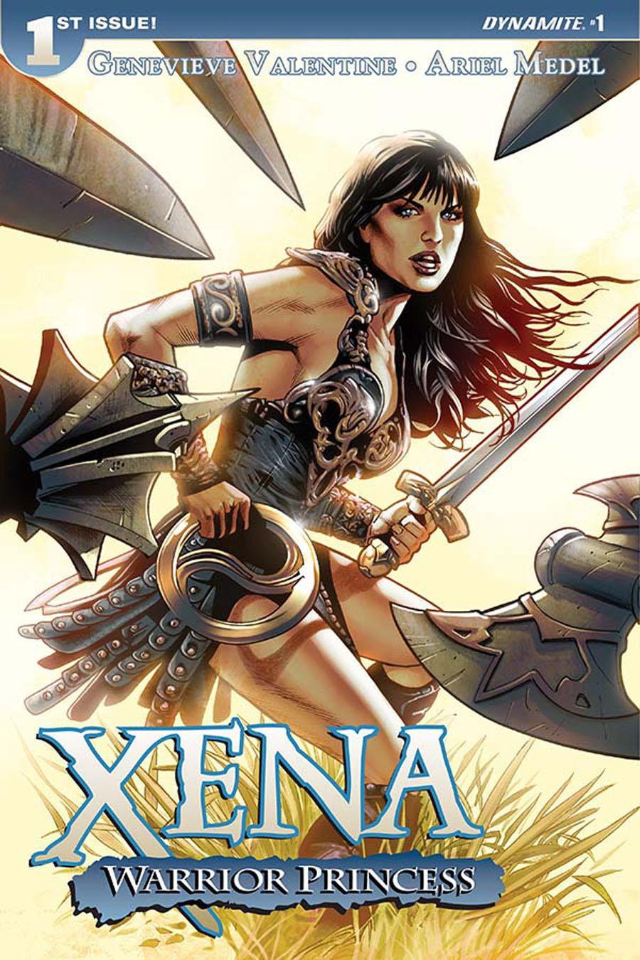 Xena Warrior Princess Vol 3 #1 Cover A Regular Greg Land Cover