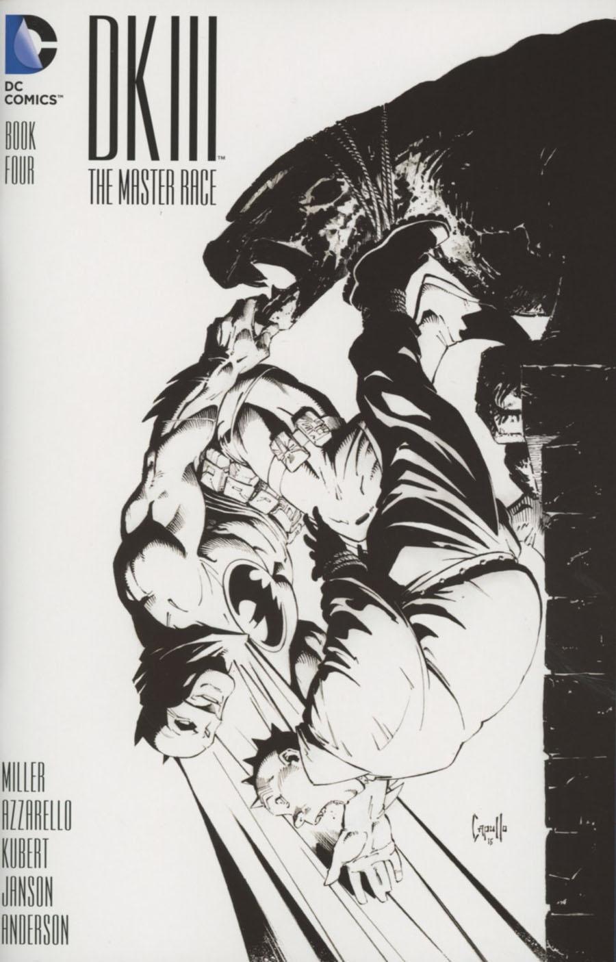 DARK KNIGHT III THE MASTER RACE 8 GREG CAPULLO MIDTOWN VARIANT BATMAN MILLER