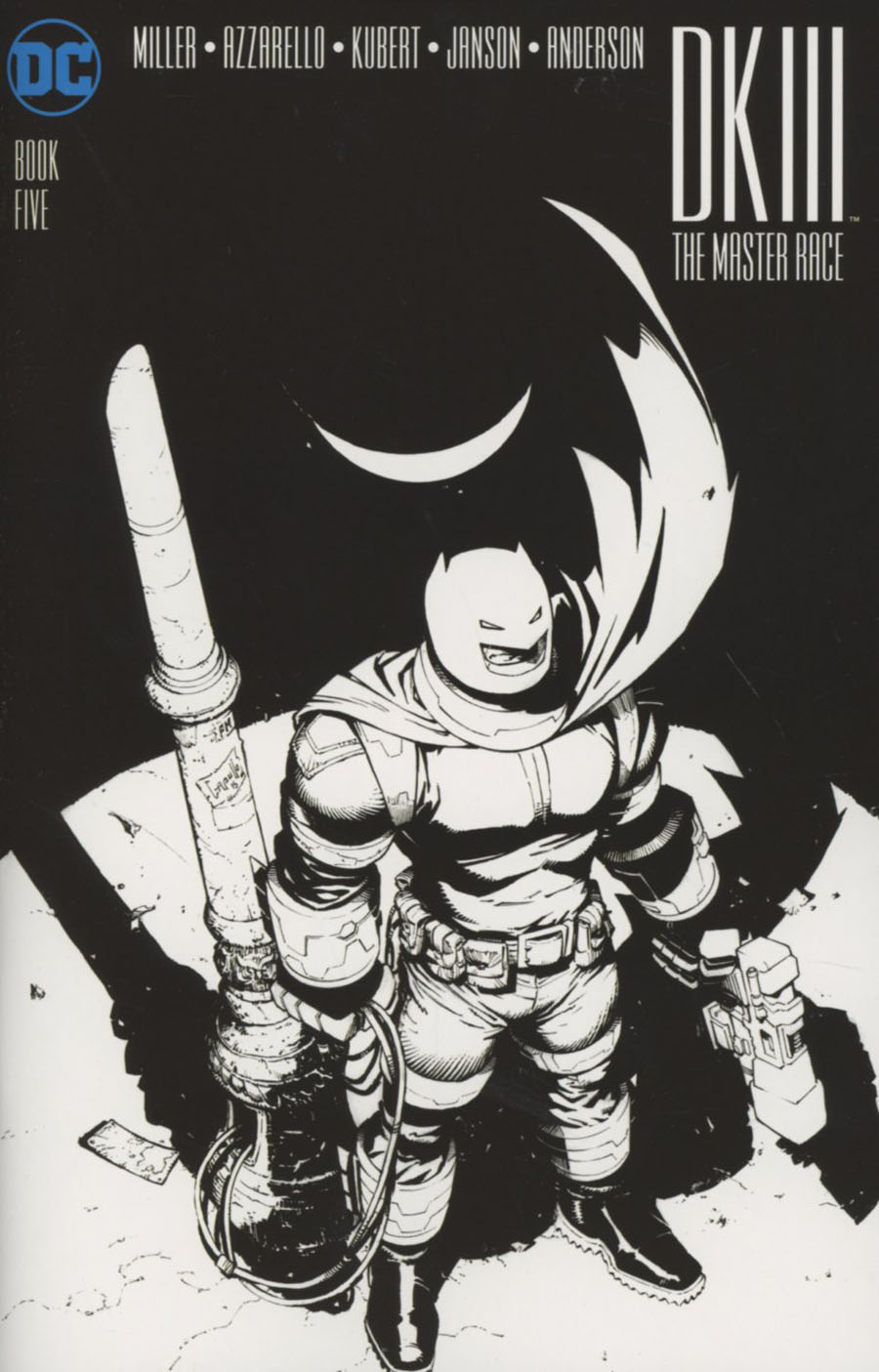 Dark Knight III The Master Race #5 Cover C Midtown Exclusive Greg Capullo Sketch Variant Cover