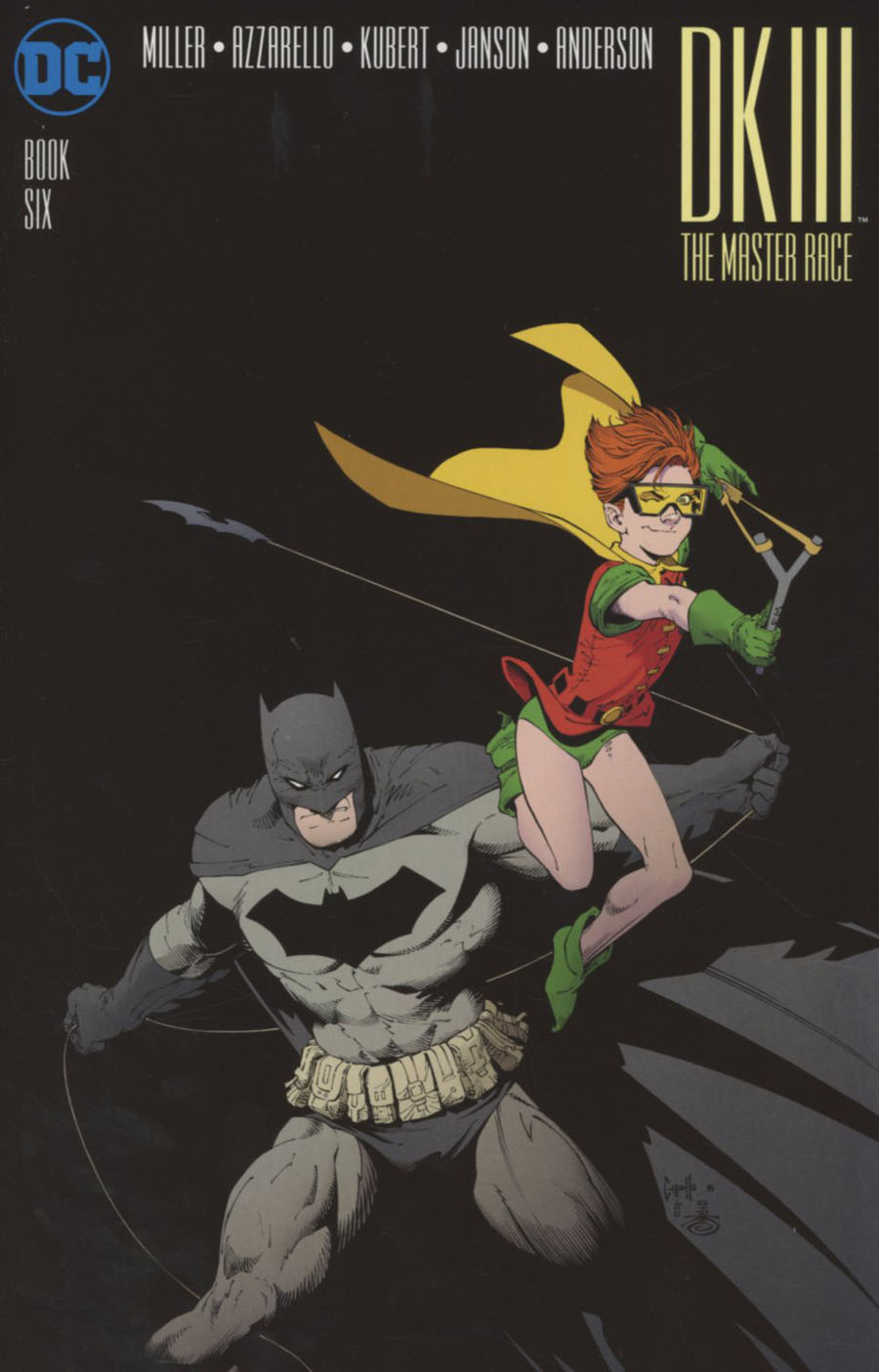 Dark Knight III The Master Race #6 Cover B Midtown Exclusive Greg Capullo Color Variant Cover