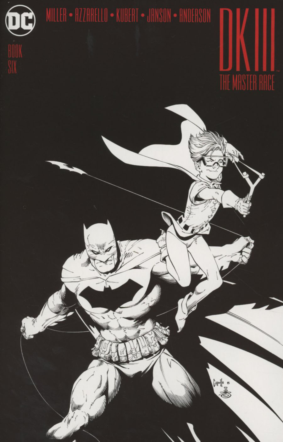 Dark Knight III The Master Race #6 Cover C Midtown Exclusive Greg Capullo Sketch Variant Cover