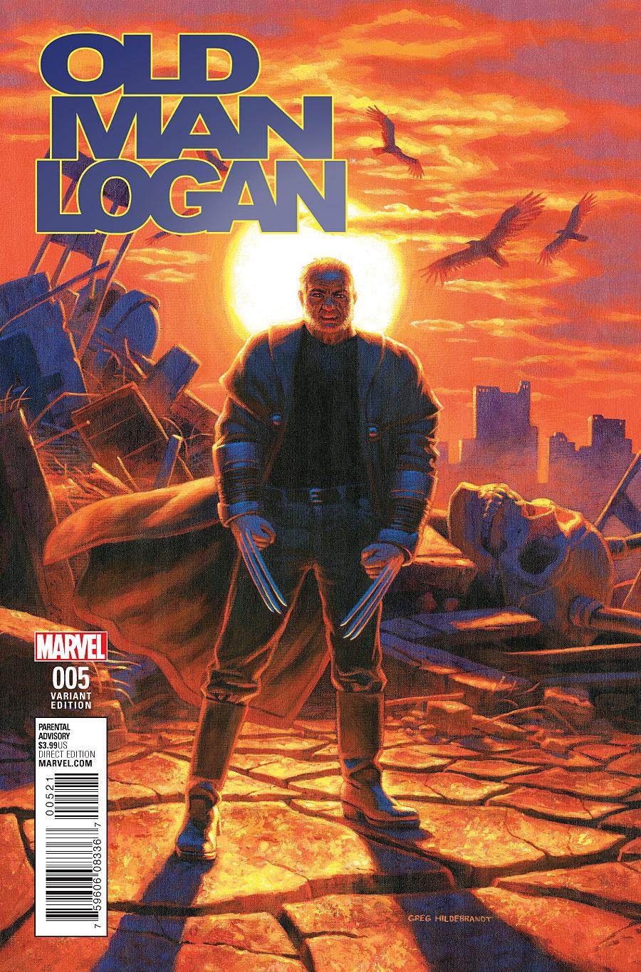 Old Man Logan Vol 2 #5 Cover C Incentive Greg Hildebrandt Classic Variant Cover