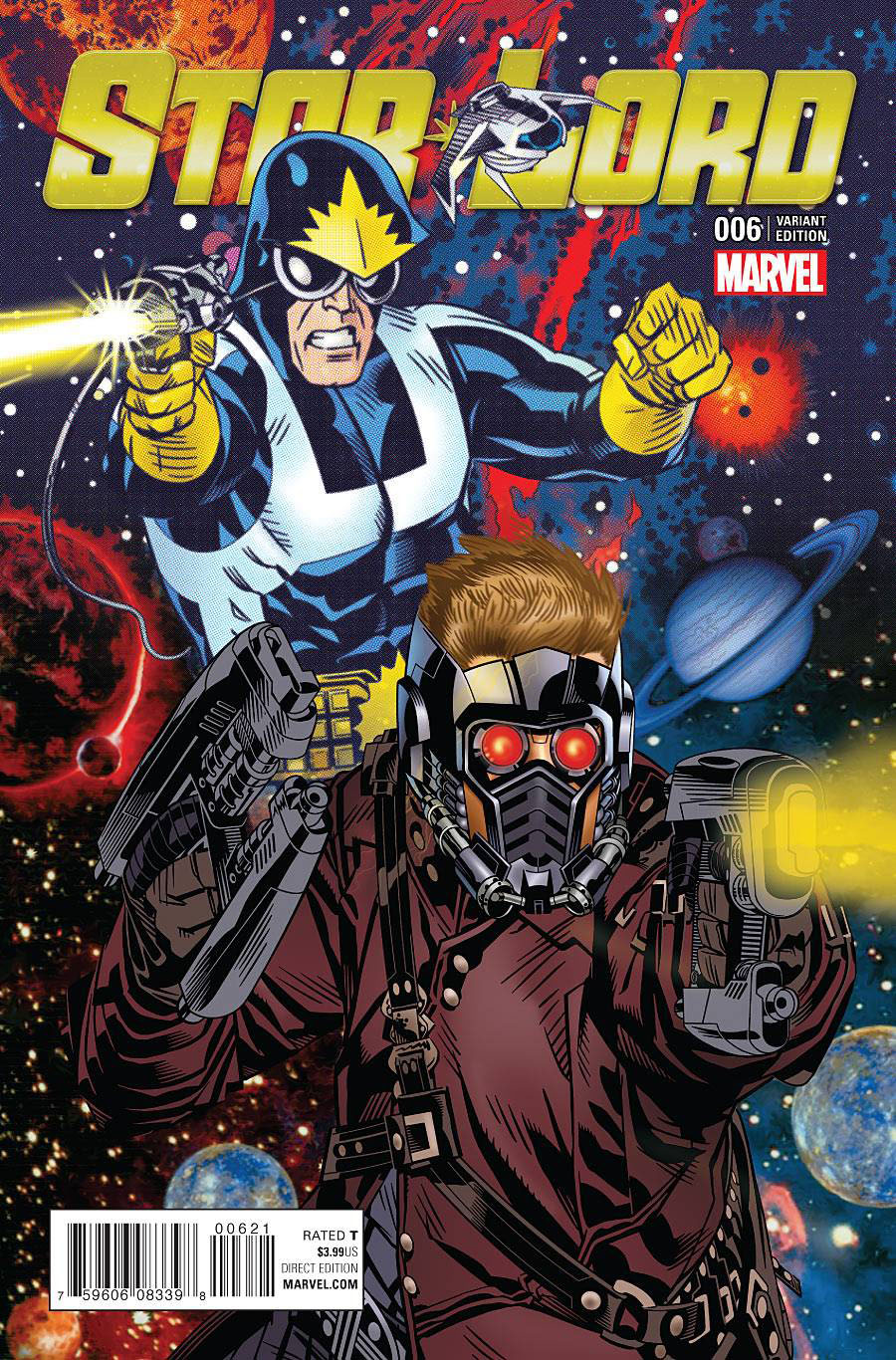 Star-Lord Vol 2 #6 Cover C Incentive Classic Variant Cover