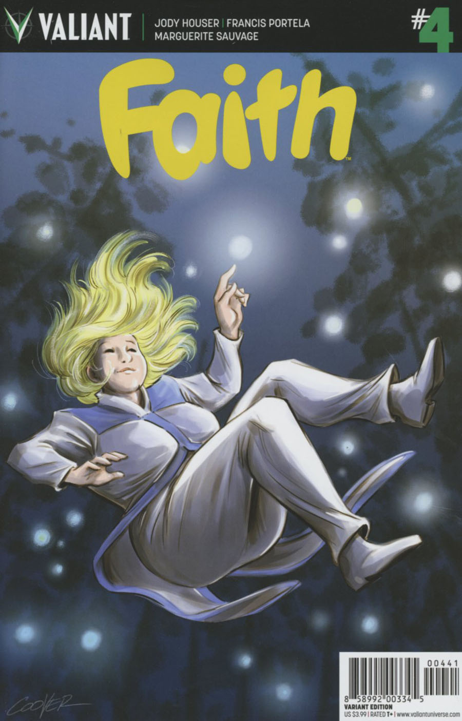 Faith (Valiant Entertainment) #4 Cover D Incentive Colleen Coover Variant Cover