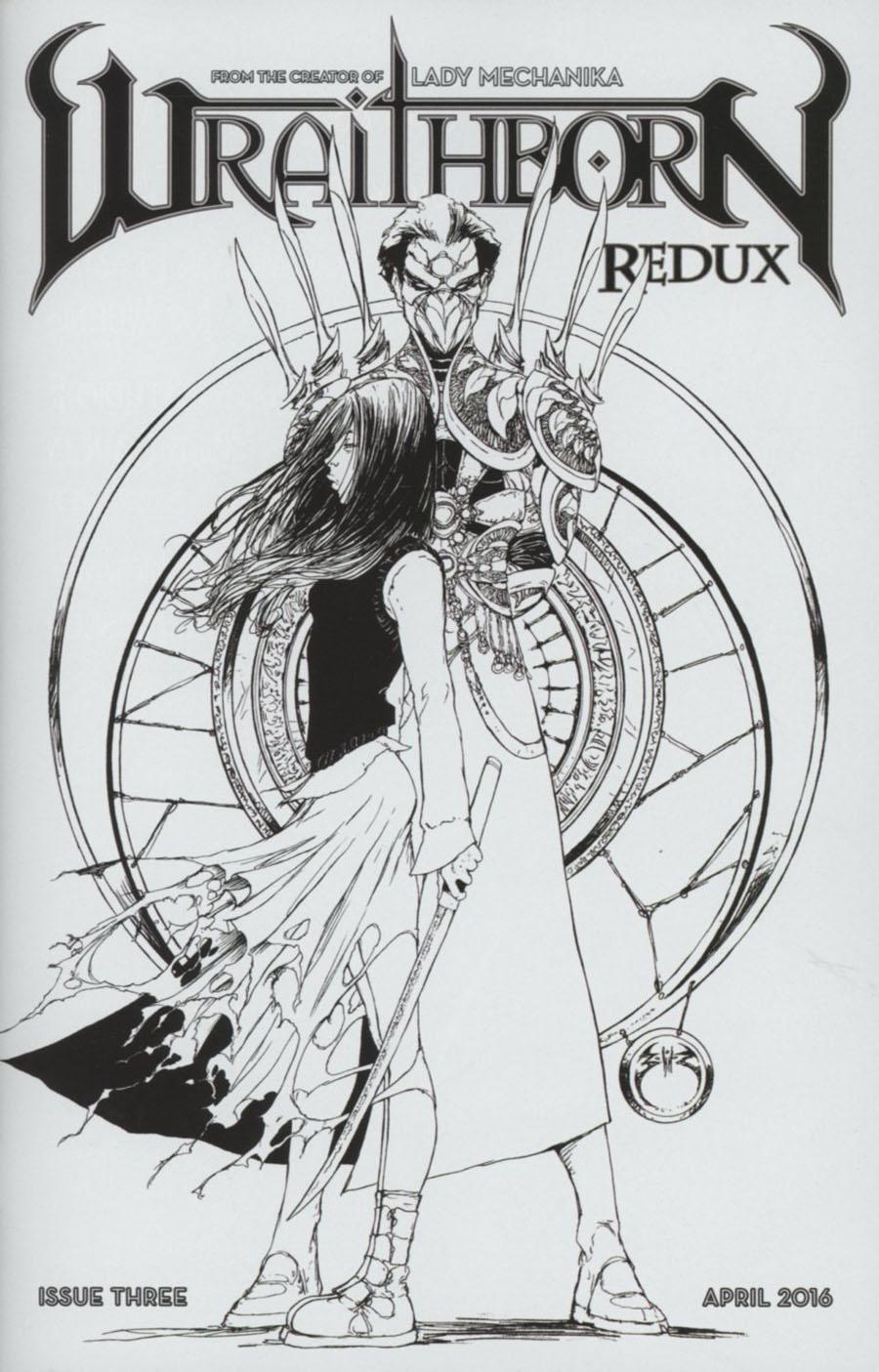 Wraithborn Redux #3 Cover C Incentive Joe Benitez Variant Cover