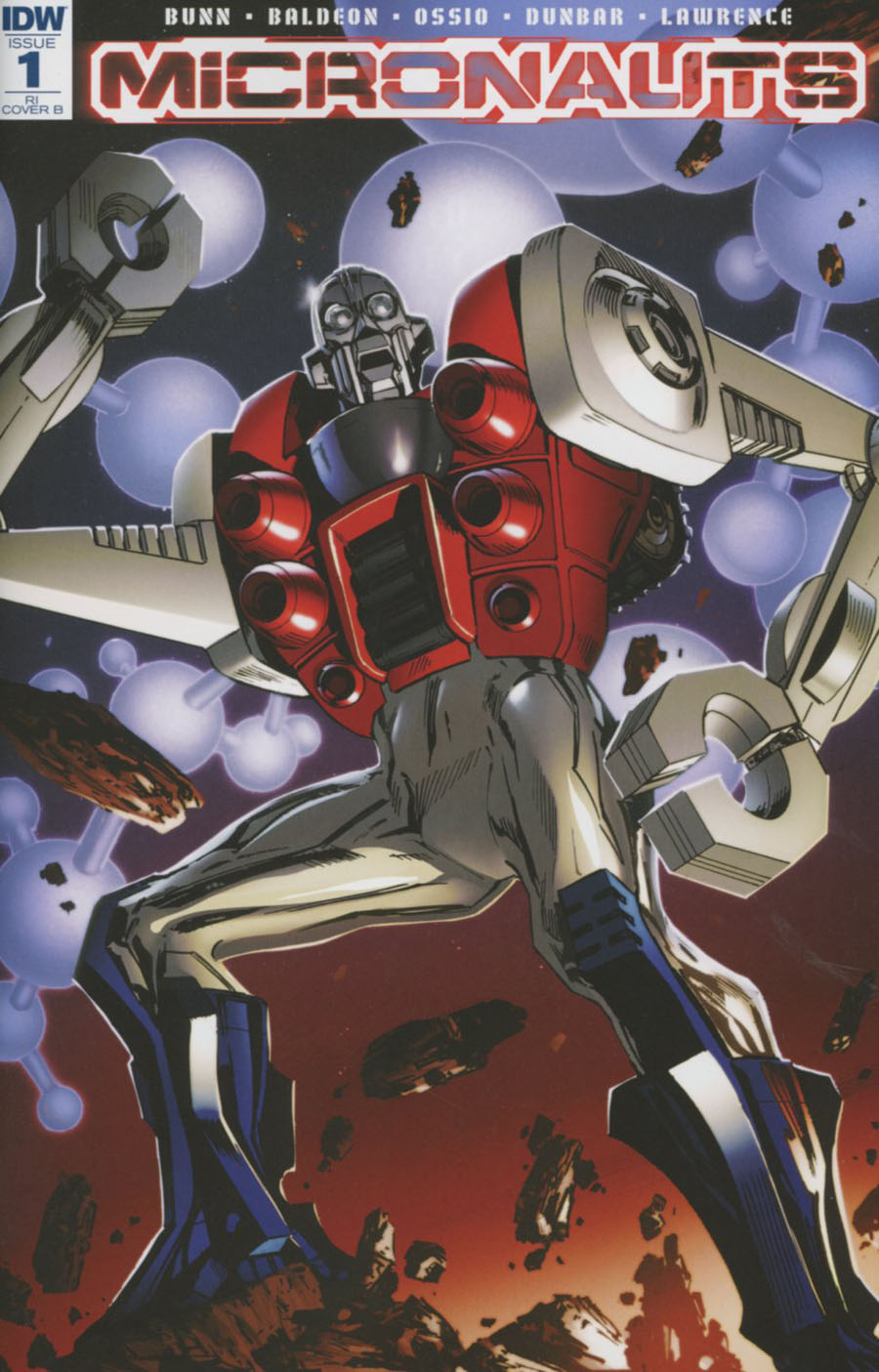 Micronauts Vol 5 #1 Cover G Incentive Butch Guice Variant Cover