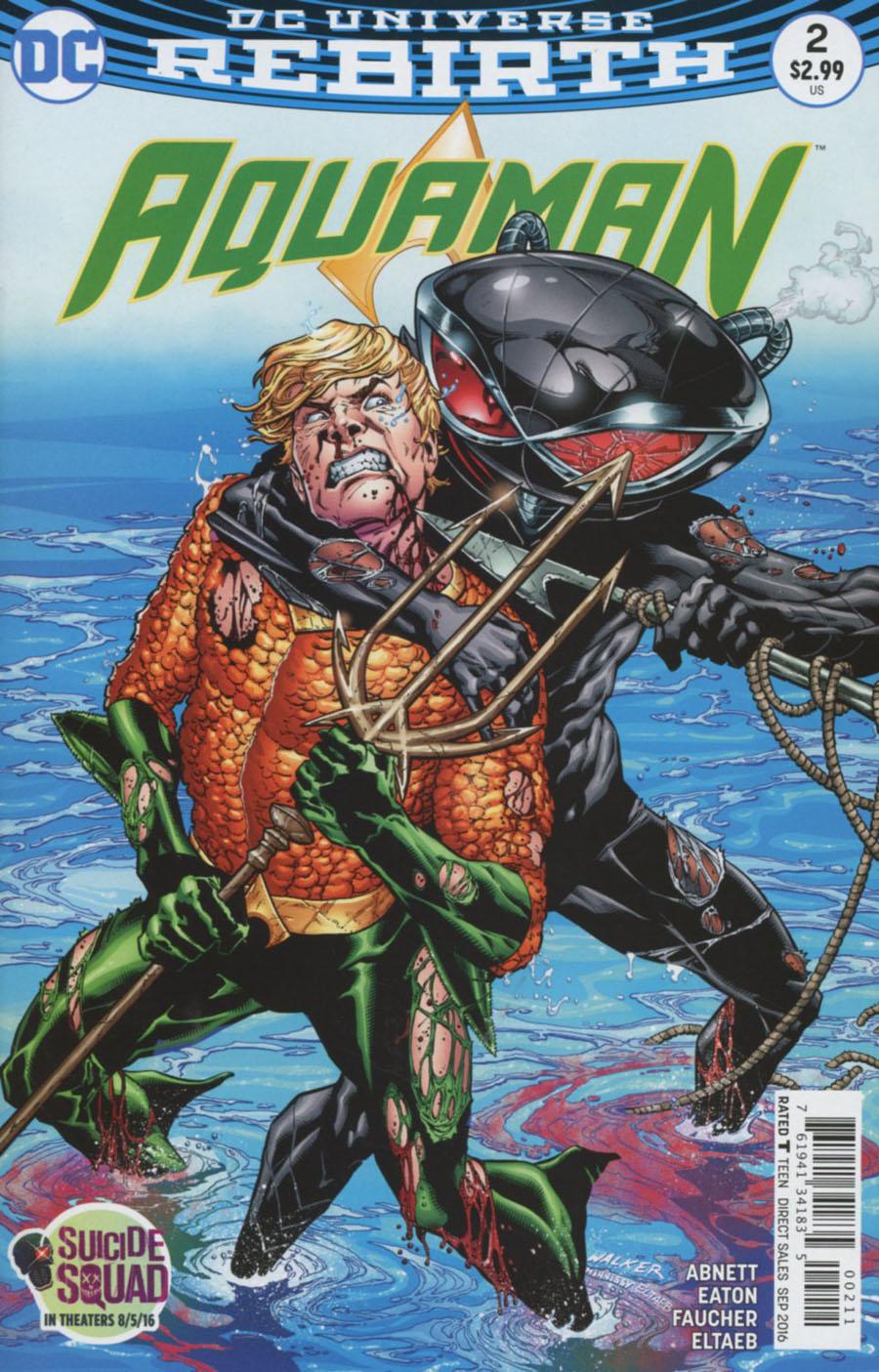 Aquaman Vol 6 #2 Cover A Regular Brad Walker Cover