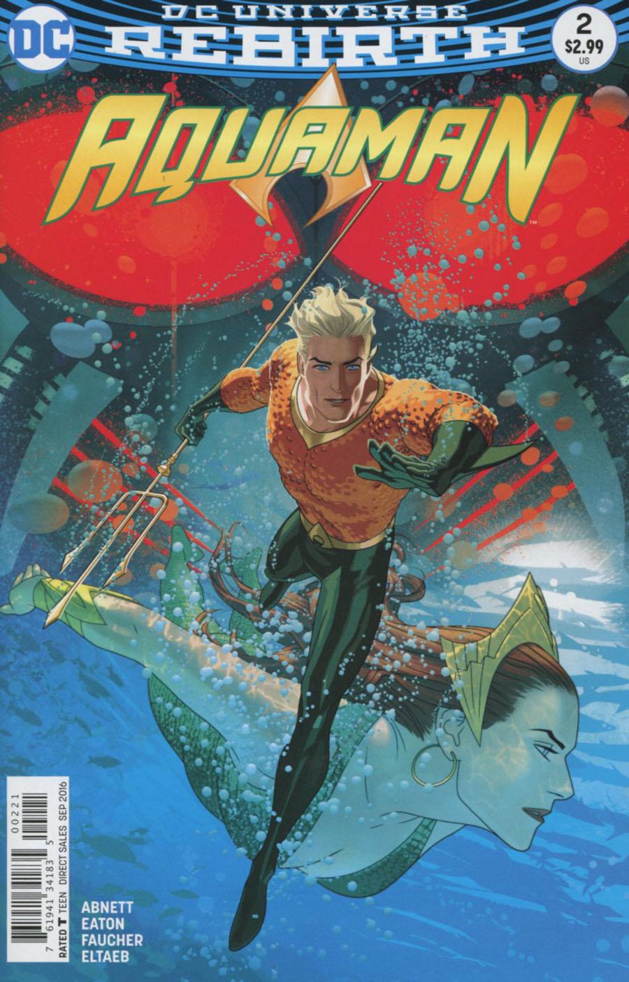 Aquaman Vol 6 #2 Cover B Variant Joshua Middleton Cover