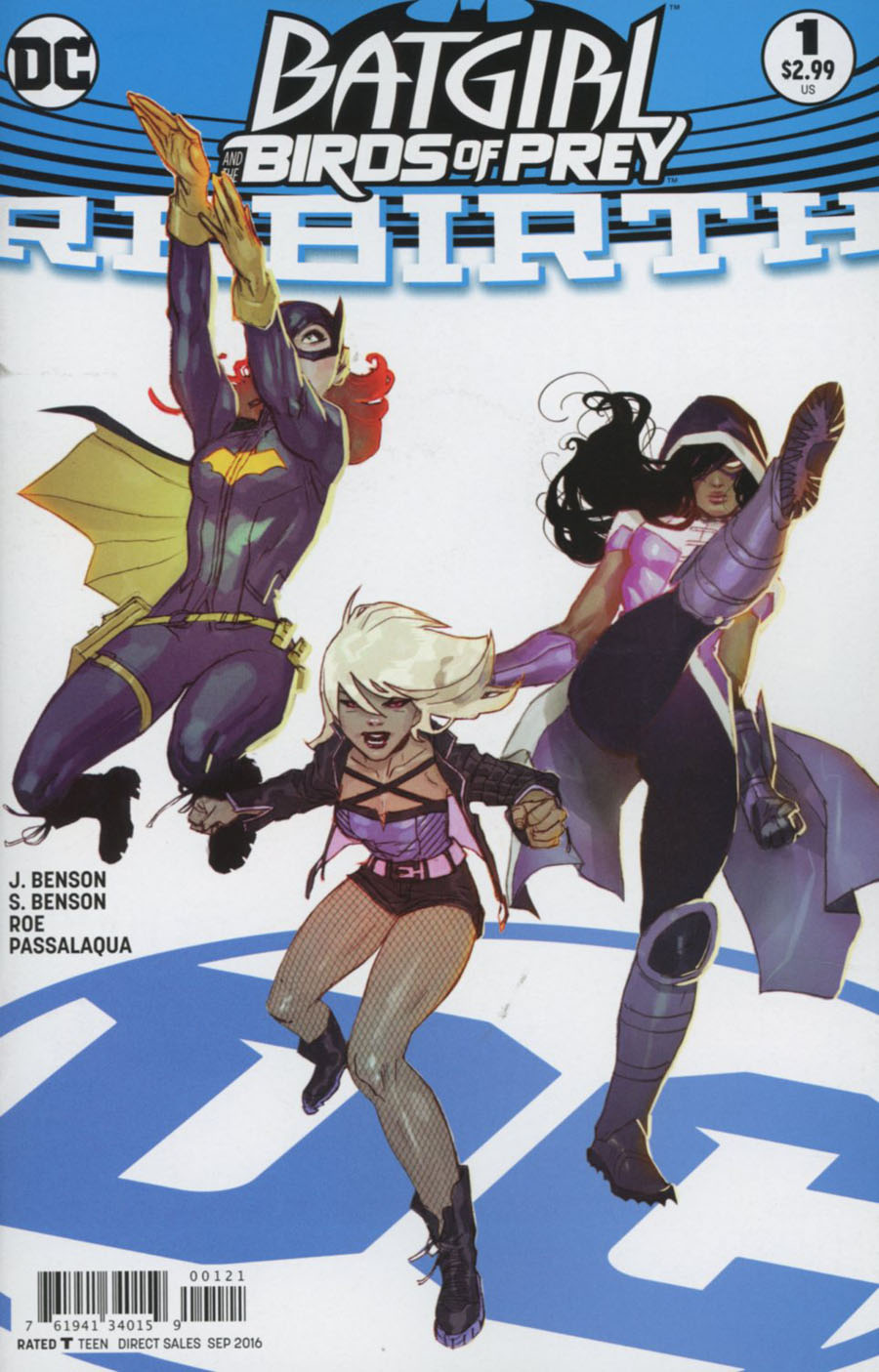 Batgirl And The Birds Of Prey Rebirth #1 Cover B Variant Ben Caldwell Cover