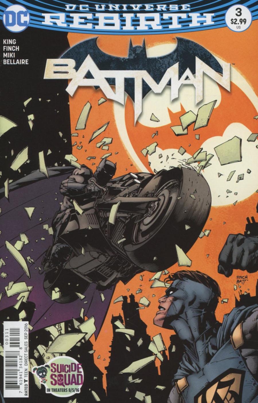 Batman Vol 3 #3 Cover A Regular David Finch Cover