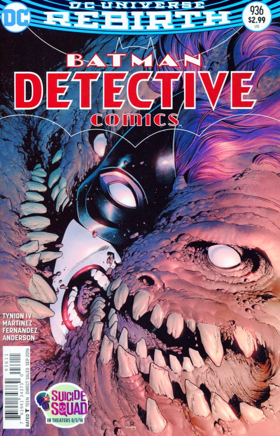 Detective Comics Vol 2 #936 Cover A Regular Eddy Barrows Cover