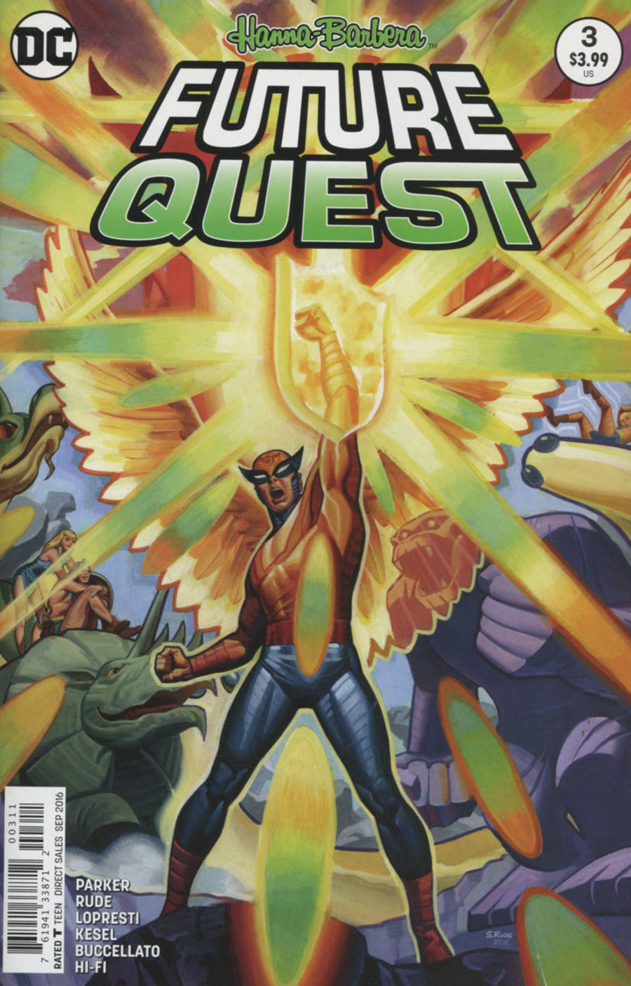 Future Quest #3 Cover A Regular Steve Rude Cover